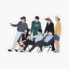 Kpop Stickers, Printable Stickers, Cute Stickers, Bts Laptop Wallpaper, Bts Black And White, Bts Book, Bts Aesthetic Pictures, Bts Drawings, Bts Chibi