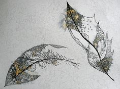 This drawing combines growth and decay to evoke a powerful emotion. It is beautiful and very sad. From an analytical point of view, the tone and form work together to create an aesthetically pleasing image. Decay Art, Leaf Skeleton, Growth And Decay, A Level Art, Organic Form, Natural Forms, Art Sketchbook, Textiles, Textile Art