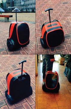 Self generating energy powered Suitcase