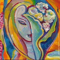Layla Derek and Dominos album cover pop art painting by Howie Green www.hgd.com