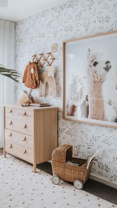 While we were away in Hawaii, Ollie's bedroom by was featured in spring edition. Did you catch it? Toddler Rooms, Kids Rooms, Nursery Inspiration, Nursery Ideas, Room Ideas, Baby Room Design, Elegant Home Decor, Little Girl Rooms, Dresser As Nightstand
