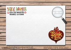 7 best day of the dead book of life invitation party set images on day of the dead book of life birthday invitation stopboris Images