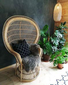 asuntomessujen suosikit Wicker, Chair, Furniture, Home Decor, Decoration Home, Room Decor, Home Furnishings, Stool, Home Interior Design