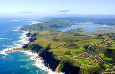 Aerial photo of Knysna, Garden Route South Africa - Stock Photo , Coeur D Alene Resort, European Road Trip, Romantic Road, Knysna, Travel Around The World, South Africa, Golf Courses, City, Amazing Places