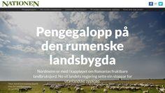 Pengegalopp på den rumenske landsbygda, Nationen