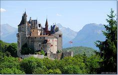 château de Menthon Saint Bernard. Haute-Savoie