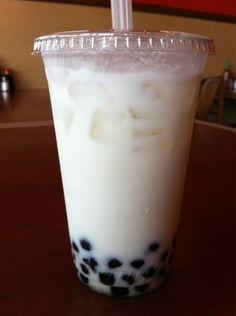 Coconut boba tea. I am a boba tea addict. :)