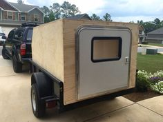 Utility trailer teardrop/ off roadish camper build - Expedition Portal