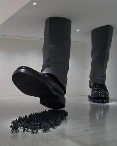 Do Ho Suh, Karma, 2003  [via Cave to Canvas]