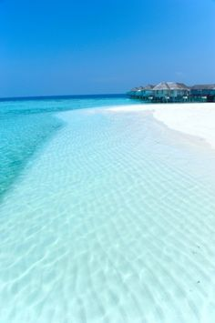 Crystal clear waters.......