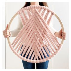 Macrame Materials – Whatever You Need To Get Rolling! Macrame Wall Hanging Diy, Macrame Art, Macrame Projects, Yarn Wall Art, Diy Wall Art, Diy Art, Diy Home Crafts, Diy Crafts To Sell, Handmade Home Decor