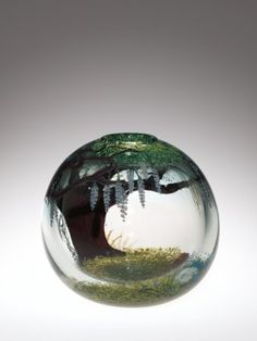 Vessel by Mark Peiser, 1979. | Corning Museum of Glass #glass #Contemporary #vessel
