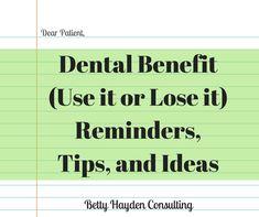 remaining dental max letter
