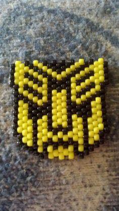 Transformer Autobot Bumblebee by babolicious - Kandi Photos on Kandi Patterns