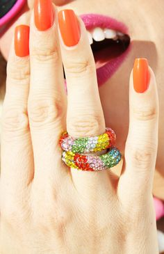 Almost Candy Rings!