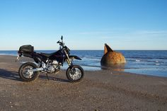 MY 5th BIKE WAS THIS SUZUKI DRZ 400 SUPERMOTO - WHAT A PLEASURE TO RIDE ON THE STREETS