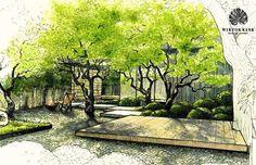 Garden in California by Wiktor Kłyk