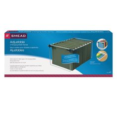 AmazonSmile : Smead Hanging File Folder Frame, Adjustable Letter/Legal/A4, 2 Pack (64855) : Office Products