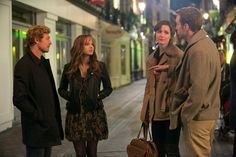 Simon Baker, Anna Faris, Rose Byrne, & Rafe Spall in I GIVE IT A YEAR