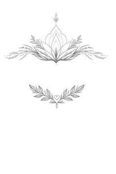 Lotus Tattoo Design, Compass Tattoo Design, Tattoo Designs, Small Words Tattoo, Small Tattoos, Line Tattoos, Flower Tattoos, Earthy Tattoos, Tattoo Foto