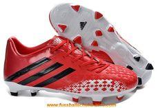 online retailer c9bd1 825c4 adidas Predator LZ TRX FG Fußballschuhe-Rot Weiss Schwarz - See more at ·  Cheap Soccer ShoesBest ...
