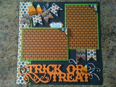 Trick or Treat Page 1 by mazzybear - Cards and Paper Crafts at Splitcoaststampers--really cute
