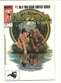 EDGAR RICE BURROUGHS TARZAN OF THE APES 2-part Copper Age series from Marvel!! http://r.ebay.com/nCa2wj