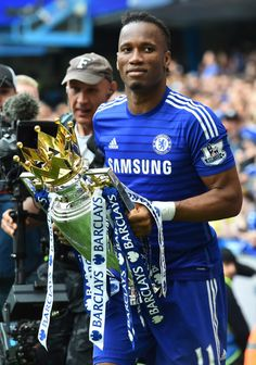 Didier Drogba - Top man, top player. #Legend #ChelseaFC