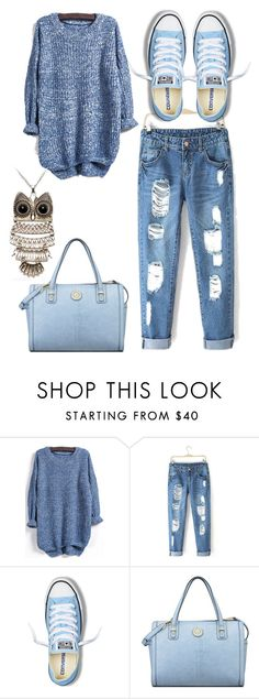 """""""Untitled #931"""" by adancetovic ❤ liked on Polyvore featuring moda, Converse, Anne Klein, women's clothing, women's fashion, women, female, woman, misses e juniors"""