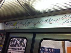 Paris metro - July 2015 Paris Metro, Do Love, Just Amazing, Versailles, Budapest, My Photos, France, Trains, Scenery