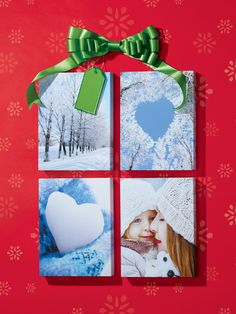 Turn your holiday memories into a great DIY gift. Bring your favorite holiday photos to your local FedEx Office to have them created into ready-to-hang canvas prints. Click to see how FedEx Office can help make your holidays easier.  #HowTheHolidaysArrive