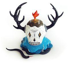 Cranium. about life & death by Kitră , via Behance
