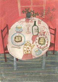 I Feel I Remember I Draw: Okonomiyaki by Meng-Chia Lai