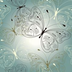 Set of Butterfly vector 03 - Vector Animal free download