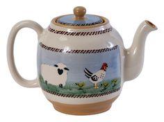 Nicholas Mosse Tea Pot - Irish Pottery Irish Pottery, Love Ireland, Erin Go Bragh, Tea Kettles, Pottery Sculpture, Tea Sets, Teacups, Ceramic Pottery, Teapot