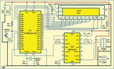 ATmega16A Based GPS Receiver | Electronics For You