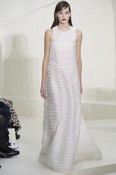 Dior, abito bianco
