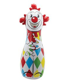 Look what I found on #zulily! Classic Clown Bop Bag #zulilyfinds