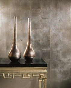 Precious Metals by Maya Romanoff #wallpaper #interiordesign
