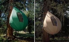 6 Suspended Tree Tents For a Lighter-Than-Air Camping Experien...