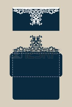 The layout of the cards in three additions. The template is suitable for greeting cards, invitations, etc. The picture suitable for laser cutting or printing. Vector. Stock Photo - 65452578