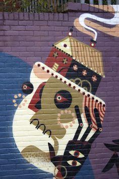Reka One at Dalston, UK. street art 000