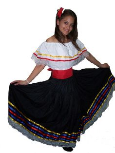 Traditional Colombian Costume
