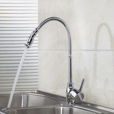 E Pak BEST Kitchen Rotatable Spout Faucet Vanity Sink Mixer Taps 360 Degree  Swivel Spout