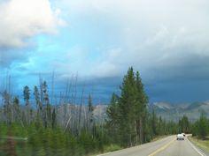 Grand loop Yellowstone np