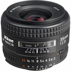 Nikon AF NIKKOR 35mm f/2D Lens - Great inexpensive walk around prime lens. Perfect for a day in Walt Disney World. Small, sharp, wide enough for most situations. Fast enough to take on dark rides. ~Bill #nikon #disneyphotography #photography