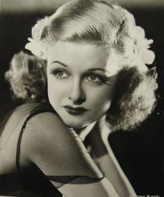 """Happy Birthday, Joan Bennett  - February 27th, 1910    """"With all of Constance's juggling of dates over the years, I started out as the youngest, then became her twin and finally wound up as the oldest sister""""."""