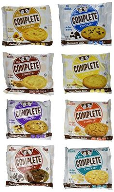 Lenny  Larrys The Complete Cookie 8 Flavor Variety 1 of each flavor >>> Click image to review more details.