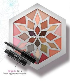 This snowflake-shaped palette boasts 12 flattering cheek colors, 18 earth-toned shadows, and a mini mascara for endless possibilities. #Sephora #Gifts #GiftIdeas