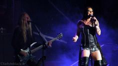 lady in black: Music #nightwish #floorjansen #marcohietala #symphonicmetal #symphonic #efmbtour #femalefronted